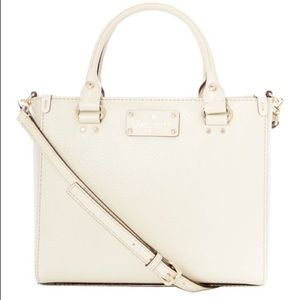KATE SPADE Small Quinn Wellesley Leather Tote